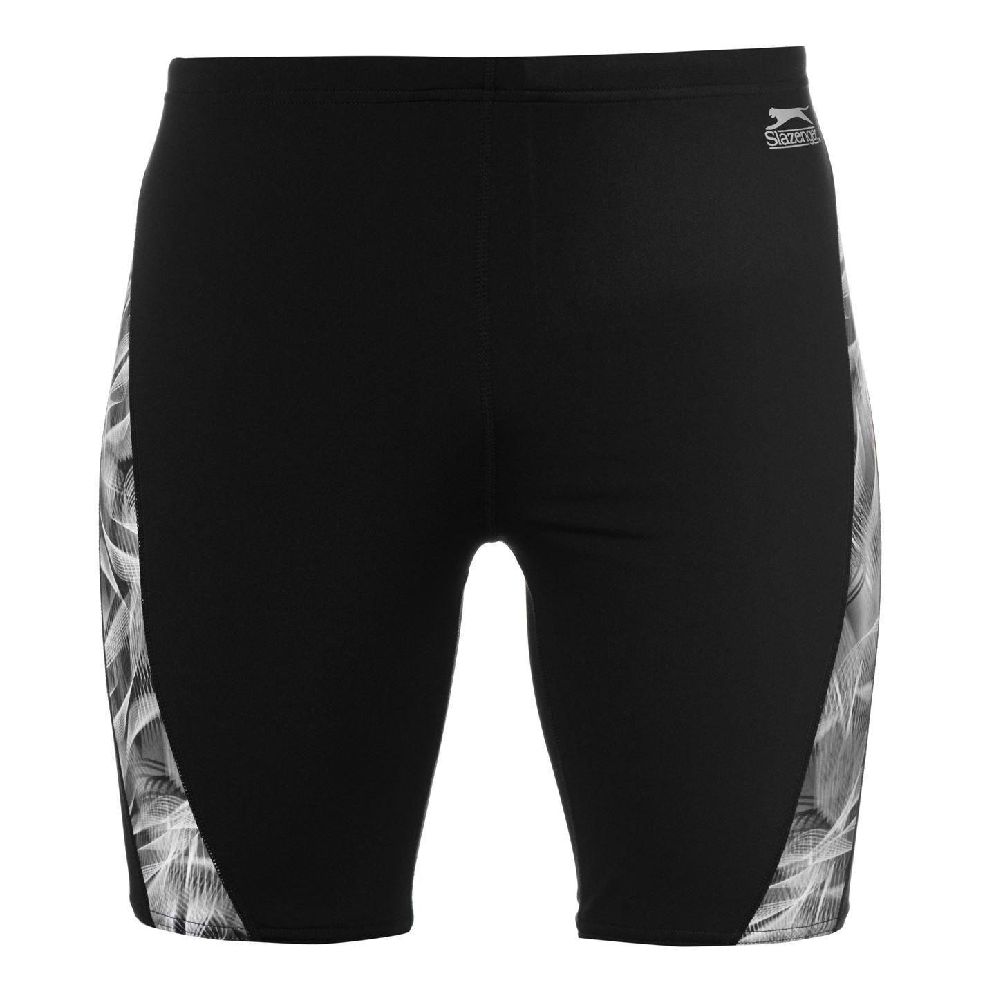 Slazenger Uomo Fascia Colorata Pantaloncini Shorts Da Bagno Mare Nuoto Spiaggia