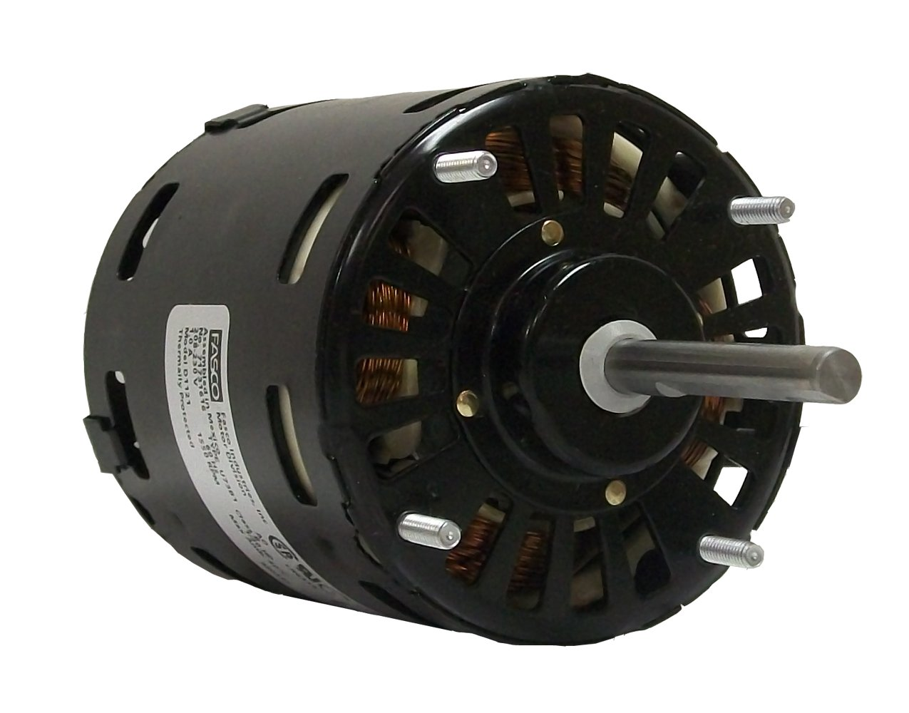 Fasco D1120 3.3-Inch Diameter Shaded Pole Motor, 1/20 HP, 115 Volts, 1500 RPM, 1 Speed, 2.1 Amps, CW Rotation, Sleeve Bearing by Fasco