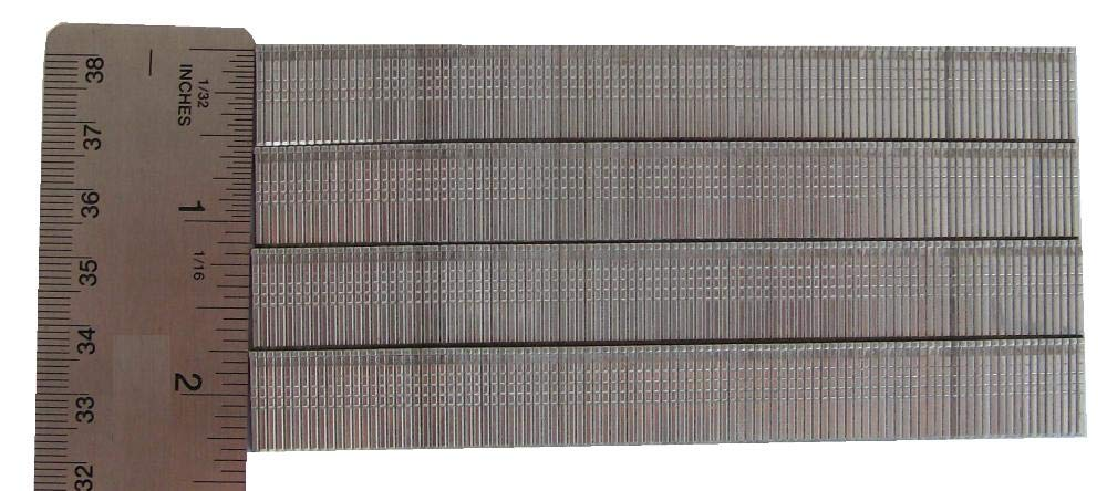 CoFast 18 Ga 5//8 Inch Stainless Steel Straight Finish Air Brad Nails 1000 a pack