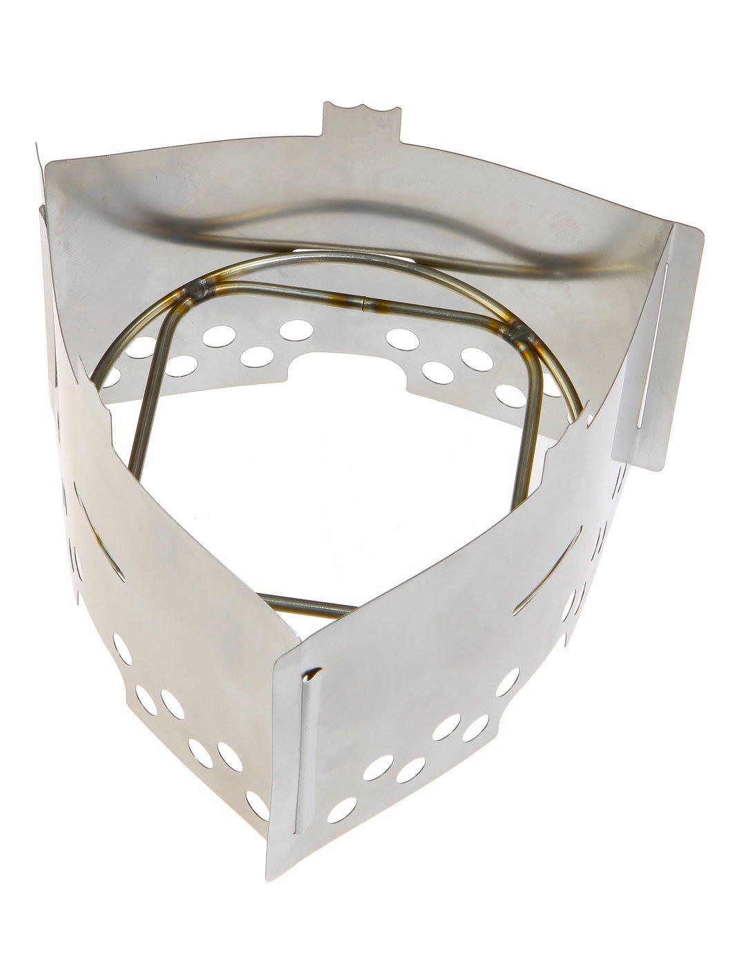 Trangia - Hornillo de gas para camping, diseño triangular, color plateado: Amazon.es: Deportes y aire libre