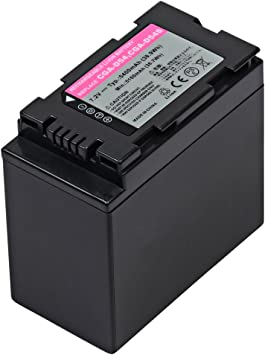 Compatible with Panasonic CGR-D54 Digital Camcorder Batteries and Chargers Replacement for Panasonic AG-HVX200 Battery and Charger 5400mAh 7.4V Lithium-Ion