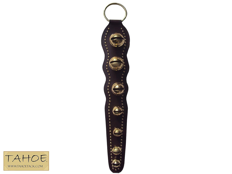 Tahoeタック装飾ソリッド真鍮Sleigh Bellsドアhanger- 7ベル B00H2VFLI6
