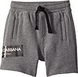 Dolce & Gabbana Kids Baby Boy's Bermudas (Infant) Grey 18-24 Months