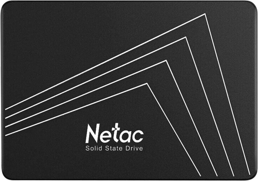 Netac 1TB SSD - Internal SSD 2.5 Inch SATAIII 6Gb/s, 3D NAND Flash, Read Speeds up to 535MB/s, SLC Cache Performance Boost Digital Memory Internal Solid State Drive for PC/Laptop/Computer - N530s