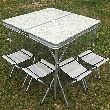 Xing Lin Klapp Tisch Aluminium Outdoor Koffer Portable Klappbarer Tisch Und  Stuhl Picnic Tisch Ständer 80