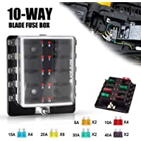 Amazon Best Sellers: Best Automotive Replacement Fuse Boxes
