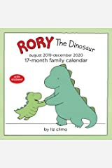 Rory the Dinosaur 17-Month 2019-2020 Family Wall Calendar Calendar