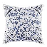 Laura Ashley 211394 Charlotte Decorative Pillow, 16 x 16, Blue