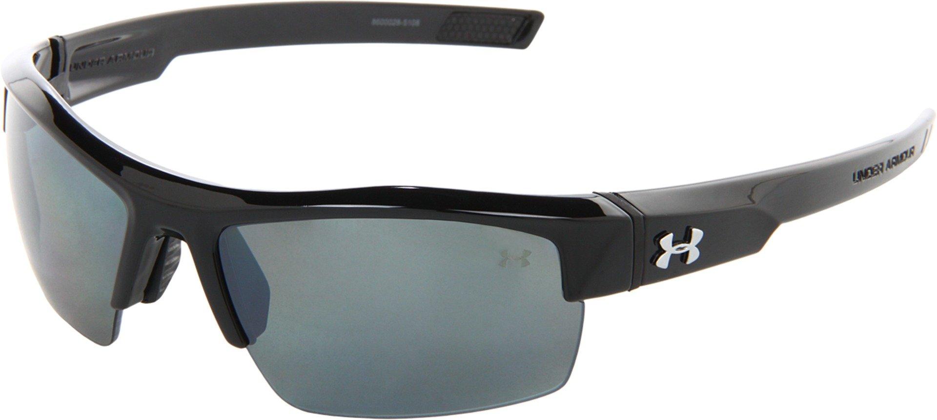 85380e0b0cf0 Under Armour Igniter Polarized Sunglasse UV Protection Polycarbonate Lens  Black