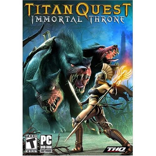 - Titan Quest Immortal Throne Expansion Pack - PC