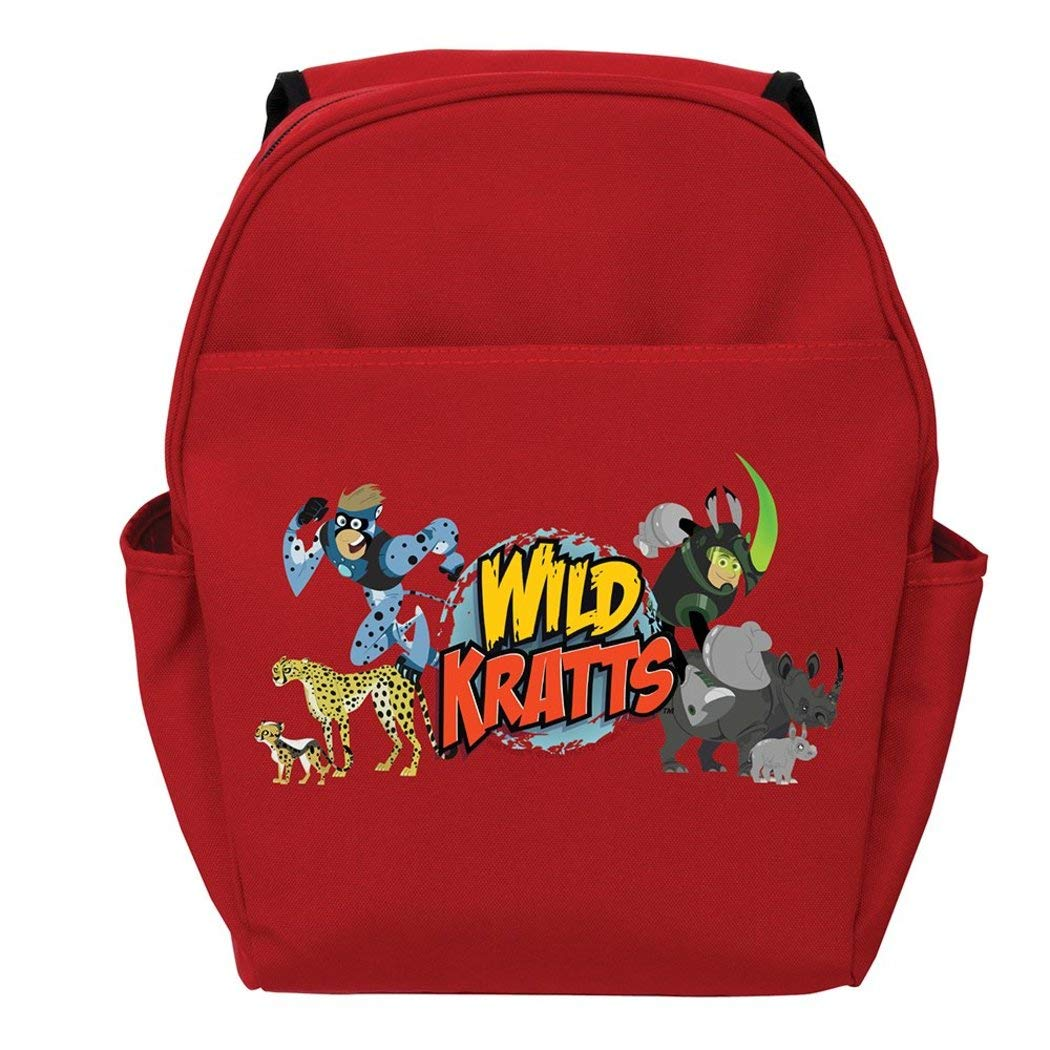 Amazon.com: Red Wild Kratts Creature Adventure Toddler Kids Backpack 14