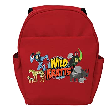 Amazon.com: DSOS Red Wild Kratts Creature Adventure Toddler Kids Backpack 14