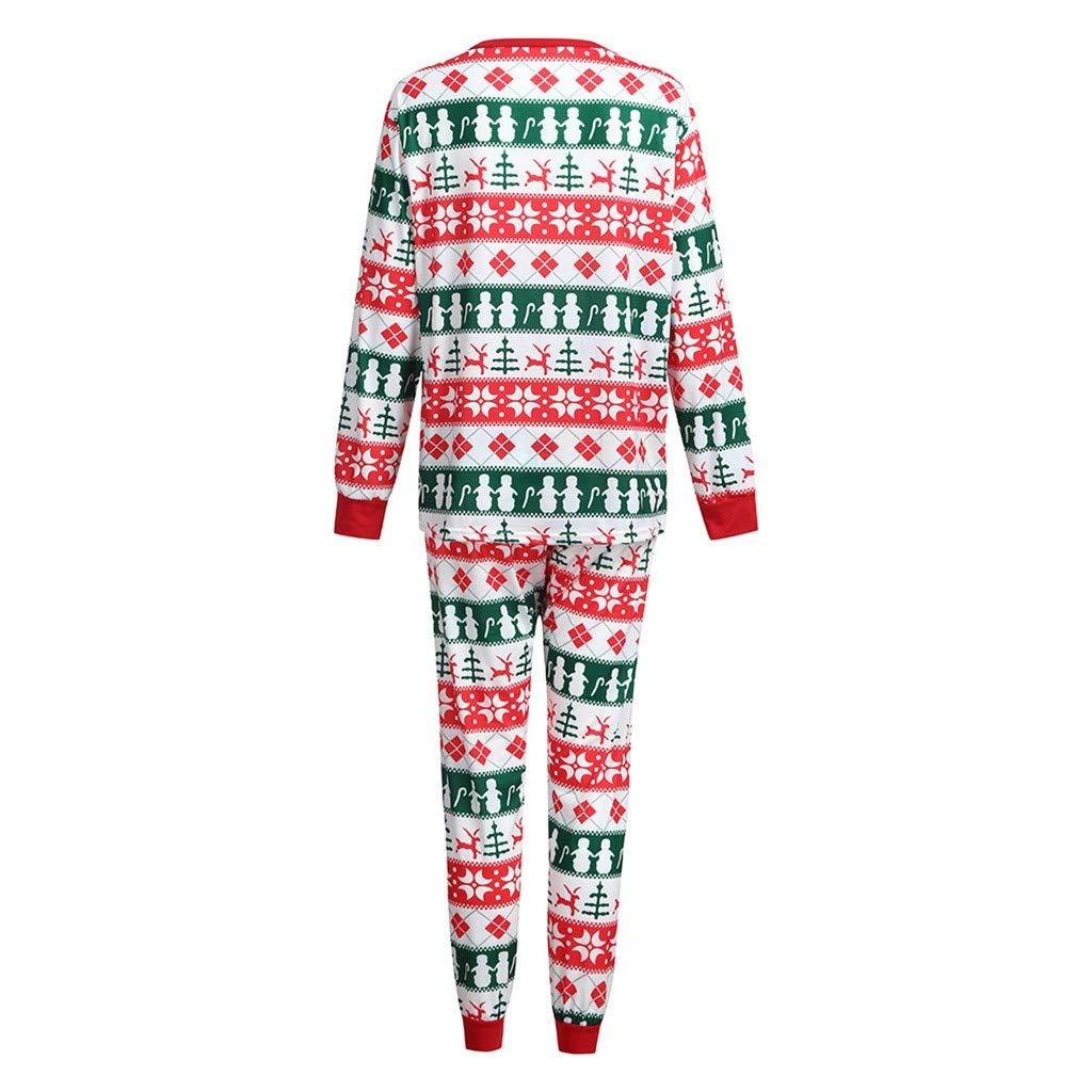 Amazon.com  Family Matching Snowman Print Holiday Winter ELK Pajama PJ Sets  Men Women Boy Girl Kids Christmas Family Nightwear Pajamas Set (Mommy 49b06d915