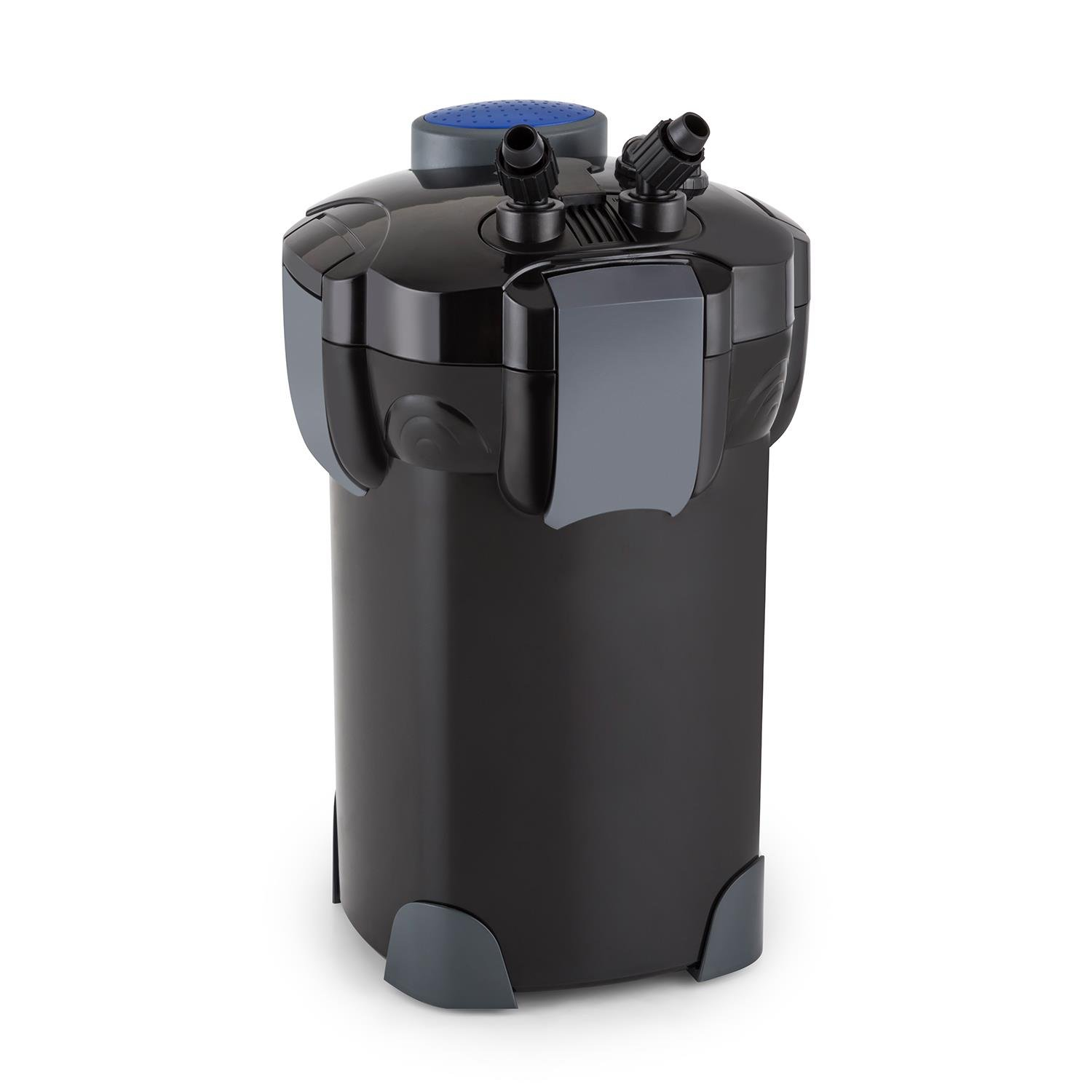 18 Waldbeck Clearflow 18 Aquarium Outdoor Filter • 18W • 4-Stage Filter • 1000 l   h • Quiet • Economical • Easy Cleaning • Coupling System • Removable Filter Baskets • Fresh and Salt Water • Black