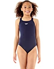 Speedo Girls Essential Endurance+ Medalist Swimsuit