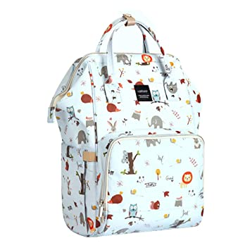 Amazon.com: Mommy Mochila Diaper Bolsa Funcional Animal ...