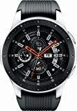 Samsung SM-R805UZSAXAR Galaxy Watch Smartwatch 46mm Stainless Steel LTE GSM (Unlocked), Silver (Renewed)