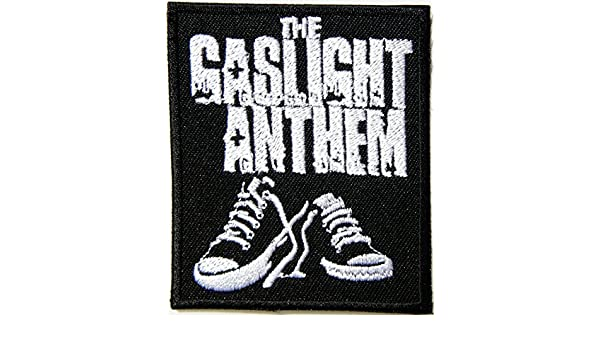 THE GASLIGHT ANTHEM SNEAKERS ROCK PUNK METAL MUSIC SEW//IRON ON PATCH: