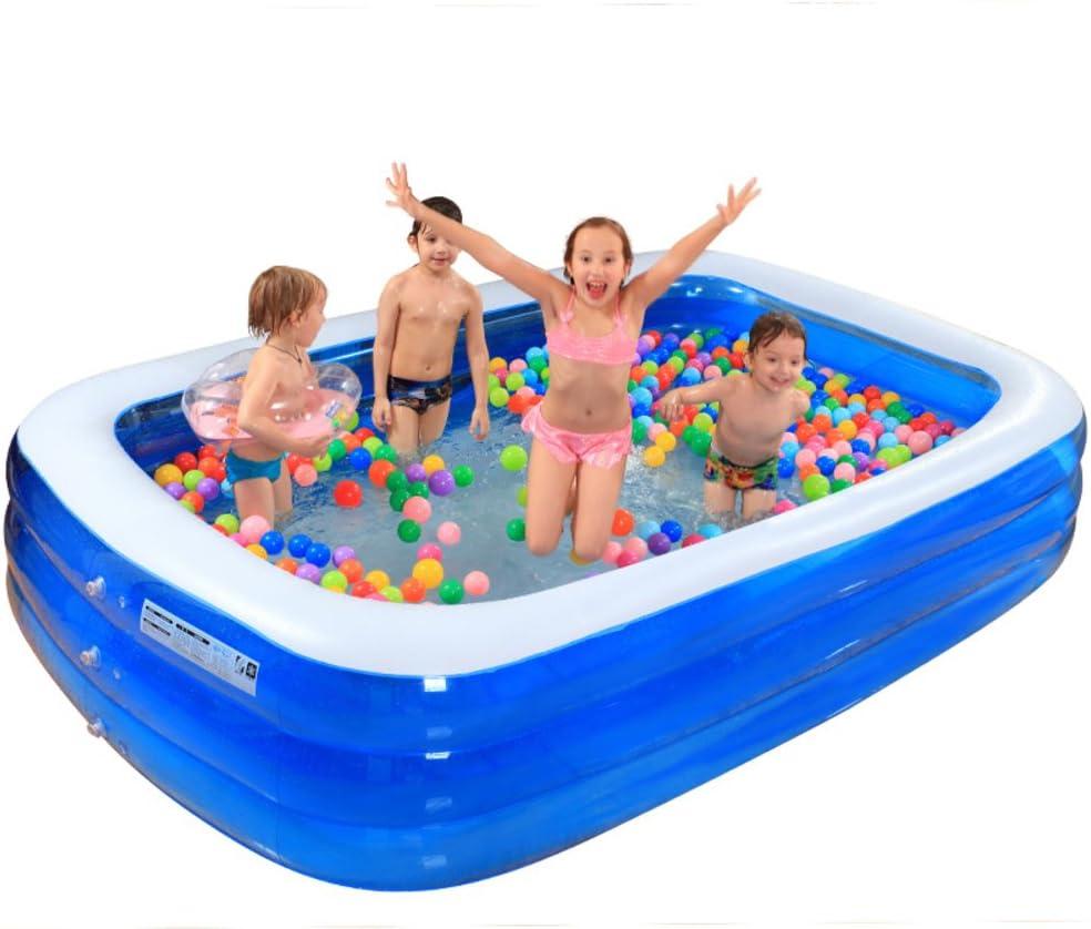 Inflable piscina de gran tamaño Gran casa joven piscina infantil Adulto-D