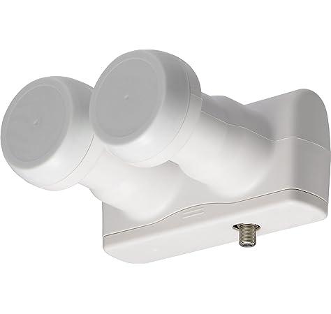 Doppel LNB MONOBLOCK 6/° Single 0,1DB Full HD 3D Ready Astra HOTBIRD