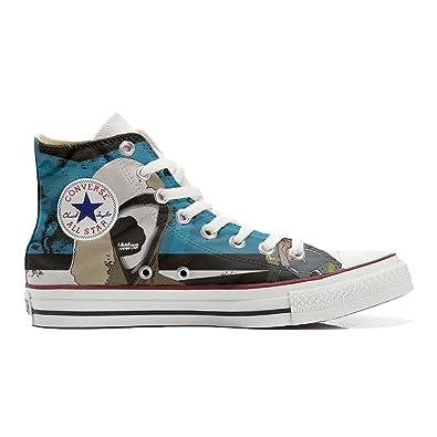 Converse All Star personalisierte Schuhe (Handwerk Produkt) mit Graffiti