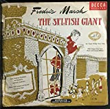 Oscar Wilde The Selfish Giant 78 Vinyl Record
