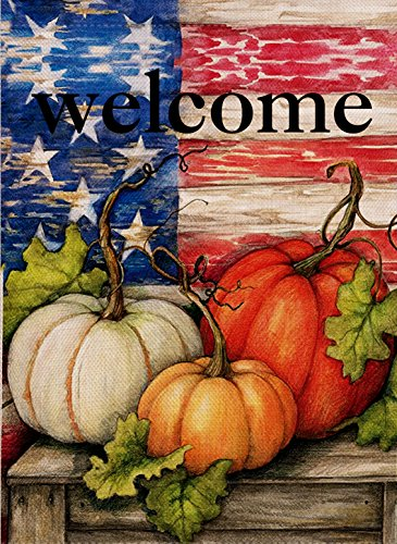 Dyrenson Home Decorative Outdoor Welcome Fall Quote Garden F