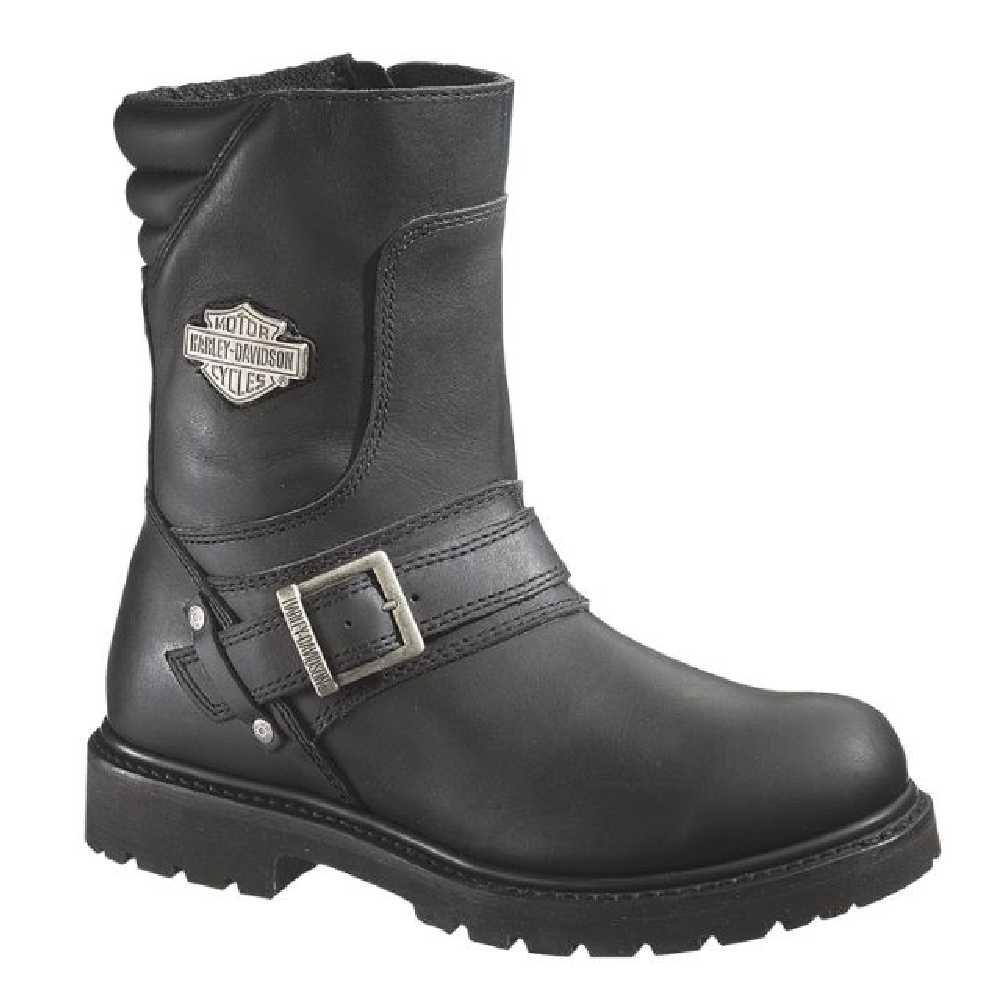Harley-Davidson Men's Booker Engineer Boot,Black,9 M US