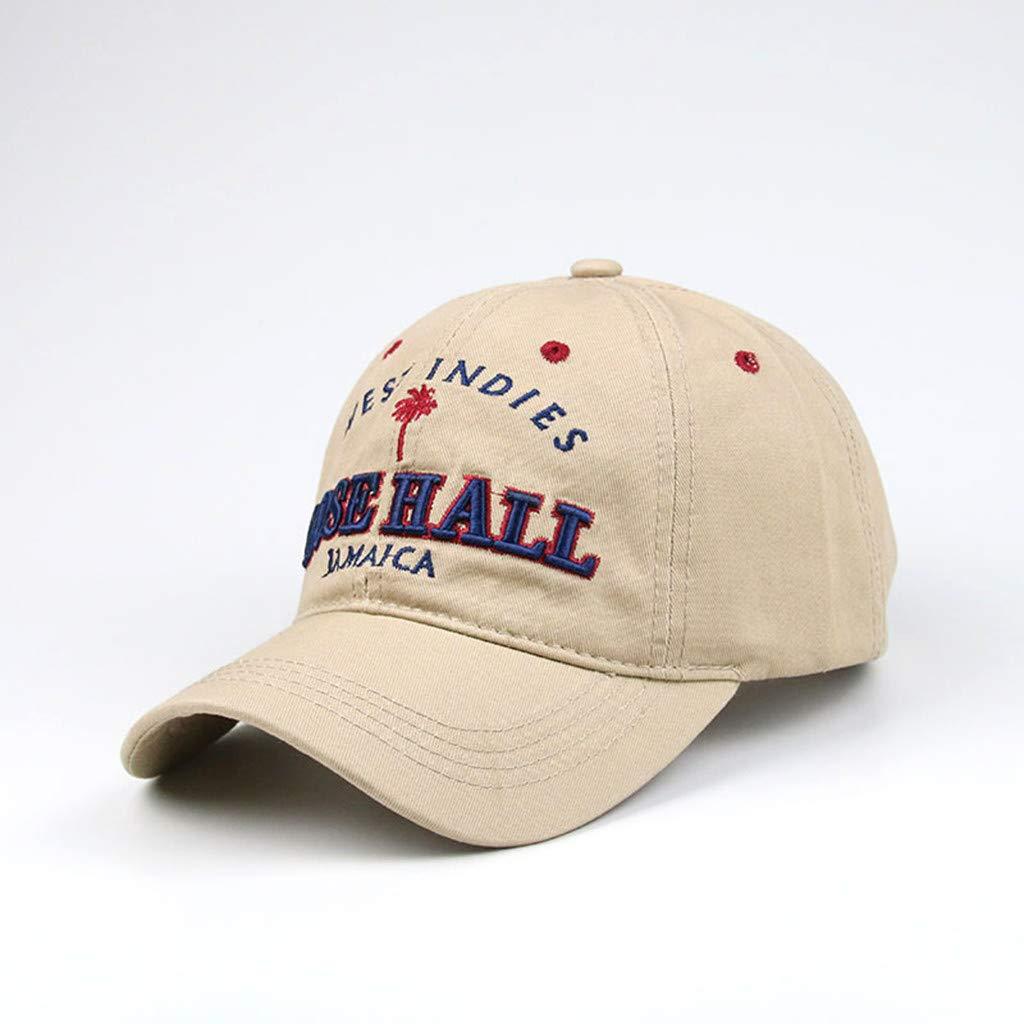 HCFKJ Sombrero Mujer Gorras De BéIsbol Bordadas AlgodóN Al Aire ...