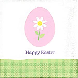 Easter Eggstravaganza Paper Beverage Napkins, 12 Pk