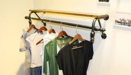 LXSnail Percheros Tienda de Ropa Exhibición de Ropa para ...