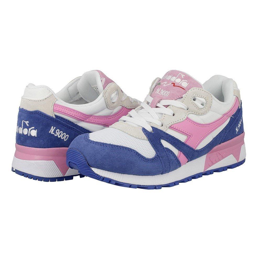 Diadora Unisex-Erwachsene Blau N9000 Iii Sneaker Niedrig Hals, blau Blau Unisex-Erwachsene (Blu Principessa/Rosa Fucsia) be6494