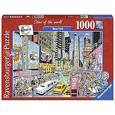 Ravensburger New York 19732 1000 Piece Puzzle for Adults, Every Piece is Unique, Softclick Technology Means Pieces Fit Together Perfectly: Toys & Games