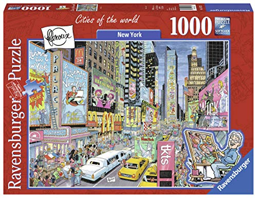 Ravensburger New York 19732 1000 Piece Puzzle for Adults, Every Piece is Unique, Softclick Technology Means Pieces Fit Together Perfectly