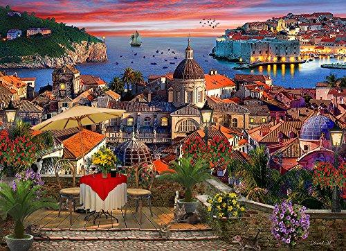 Vermont Christmas Company Dubrovnik Jigsaw Puzzle 1000 Piece
