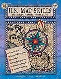 U. S. Map Skills, Carson-Dellosa Publishing Staff, 0880129344