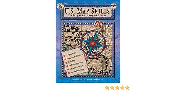 u s map skills grade 5 school specialty publishing 9780880129343 amazon com books