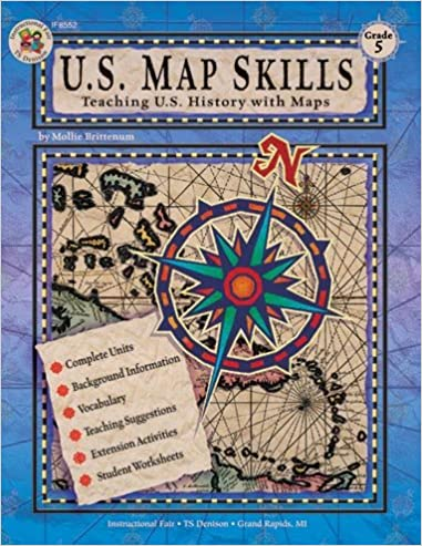 US Map Skills Grade School Specialty Publishing - Us map skills worksheets