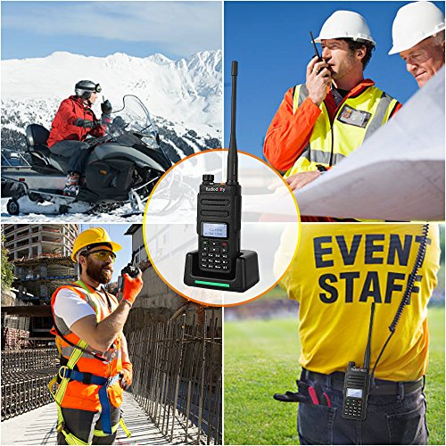 Radioddity GD-77 Dual Band Dual Time Slot DMR Digital/Analog Two Way Radio 136-174/400-470MHz 1024 Channels Ham Amateur Radio Compatible with MOTOTRBO, Free Programming Cable by Radioddity (Image #4)