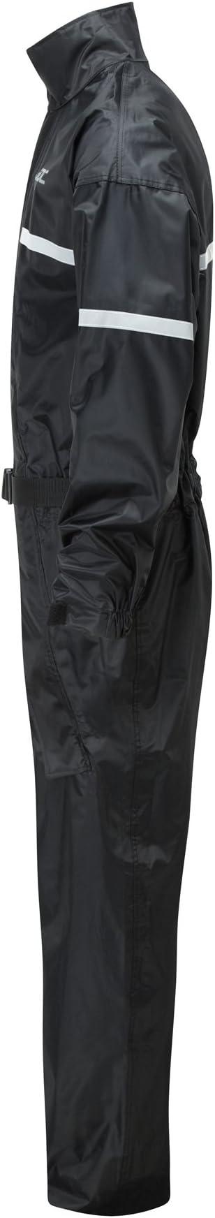 32L Amarillo//Negro SHIELD XXL JDC Traje Impermeable Moto Lluvia Sobre Traje 1PC 1 Pieza