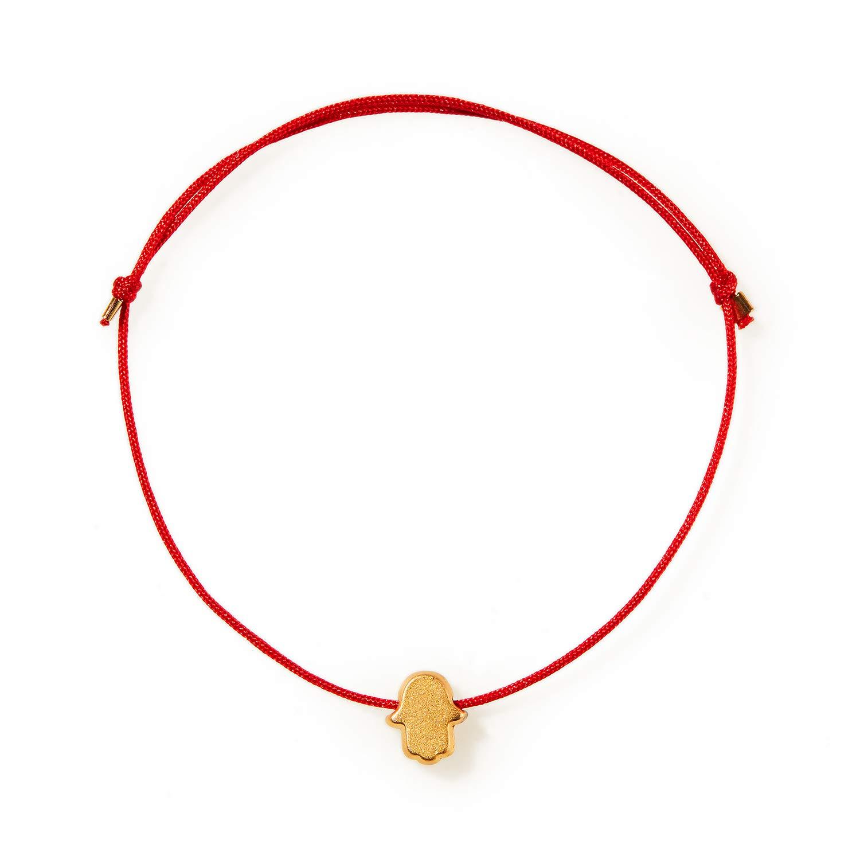 Hamsa evil eye STAR red string necklace Kabbalah good luck protection NEW