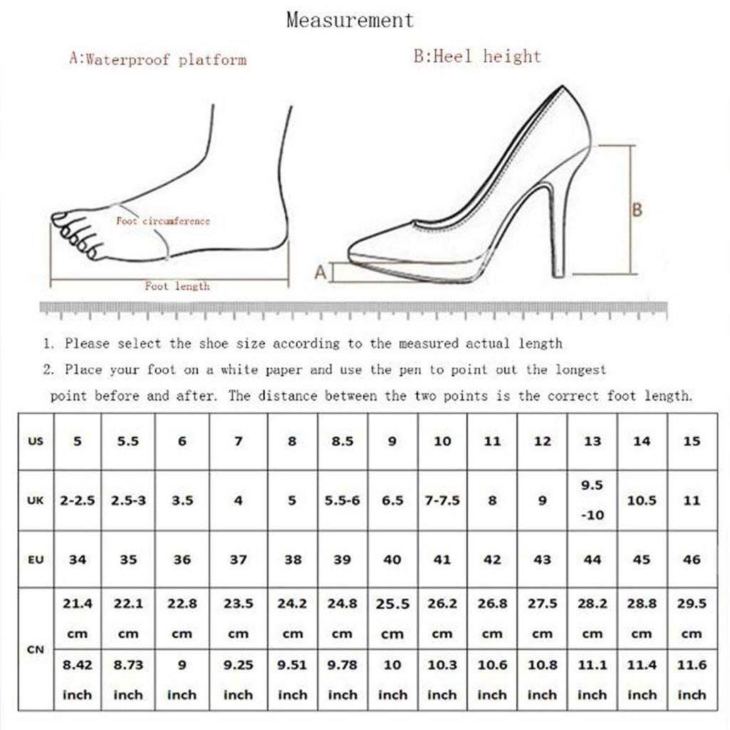 XHCP Womens Sandals Fashion wear Half Slippers Rhinestone Stiletto high Heel Word Slippers,C,36