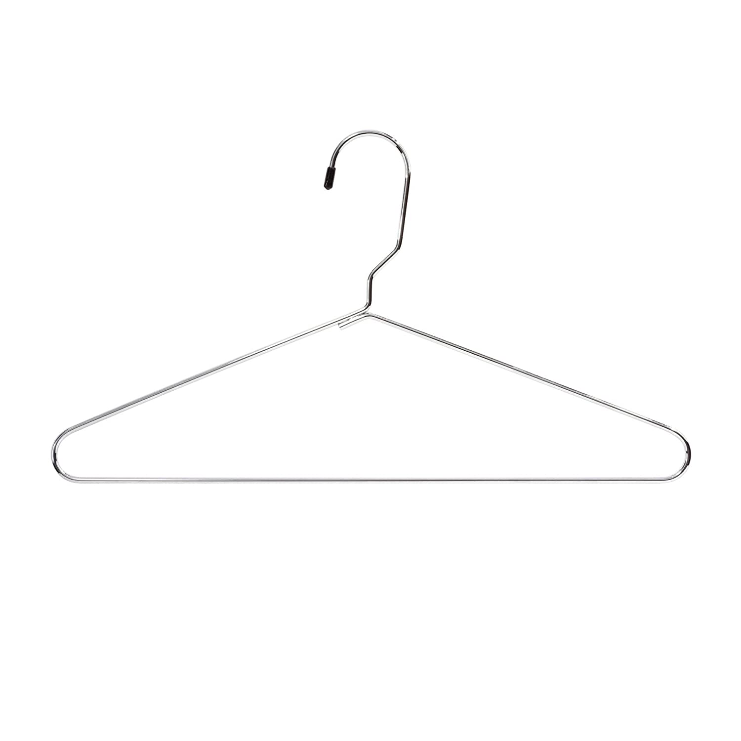 Safco Products 4245CR Metal Heavy-Duty Hangers, 12 each Chrome