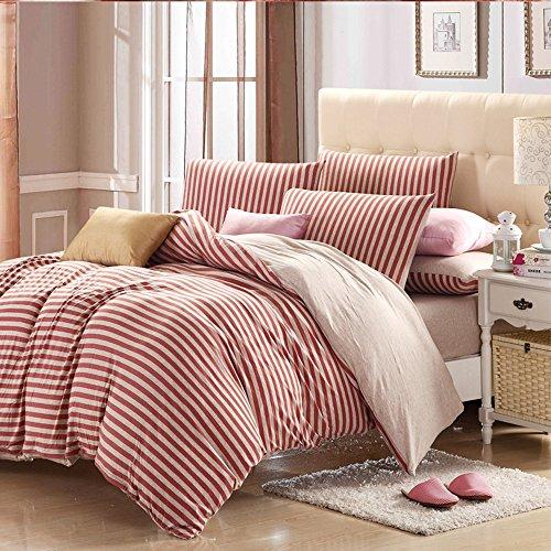 PURE ERA Jersey Knit Cotton Home Bedding Sets Duvet Cover Se