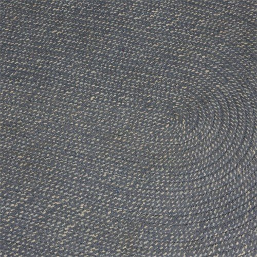 Constructive Playthings Blue Skies Colored Braided Chenille 3' X 5' Rug by Constructive Playthings (Image #1)'