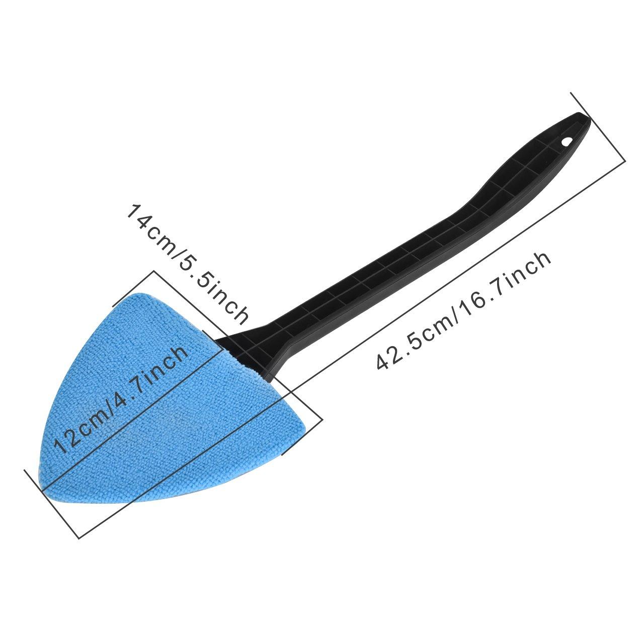 DEDC Nettoyage pour Pare-brise Kit de Nettoyant /à Long Manche pour Vitre de Voiture Lavage de Pare-brise Nettoyage de Fen/être