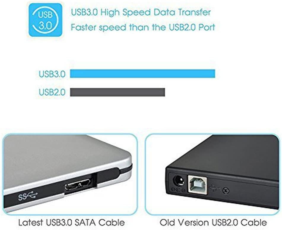 USB 3.0 External CD+-RW DVD+-RW DVD-RAM Burner Drive Writer for Laptop PC