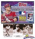 #9: 2017 Topps Baseball MLB Sticker Collection Hobby Box (50 Packs/Box, 8 Stickers/pack)