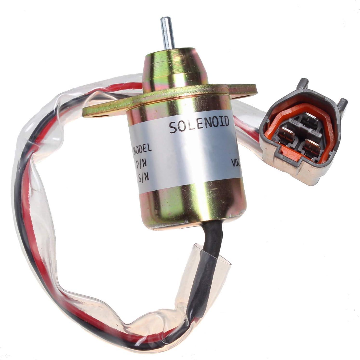 Fuel Stop Solenoid For 4200 4300 4400 4500 4600 4700 John Deere Tractor M810324