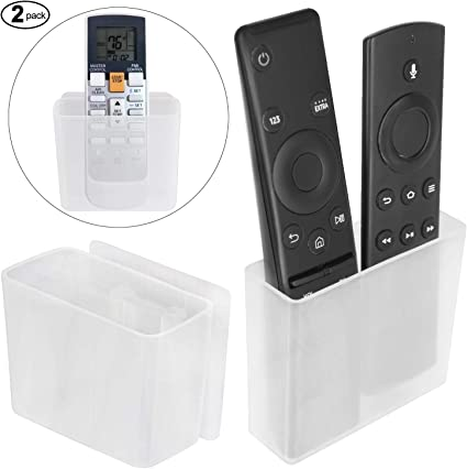 Home Universal Air Conditioner Remote Control Holder Wall Mounted Storage Box